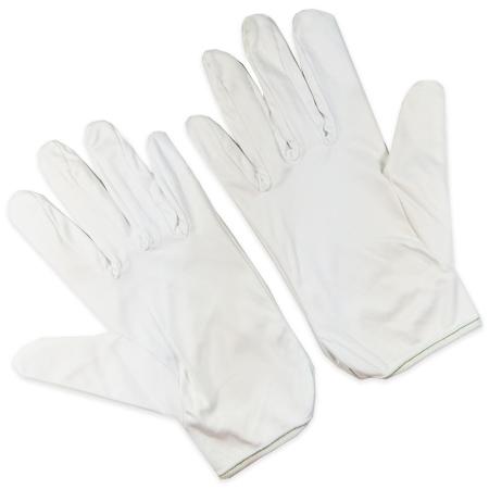 Microfiber White Gloves